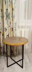 эпоксидный стол из дерева