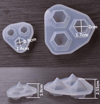 купить силиконовые молды-кристаллы