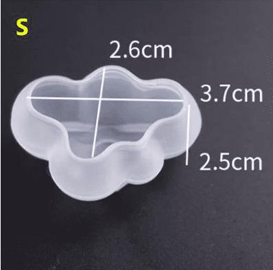 силиконовый молд облако