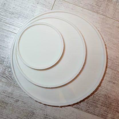 силиконовый молд круг