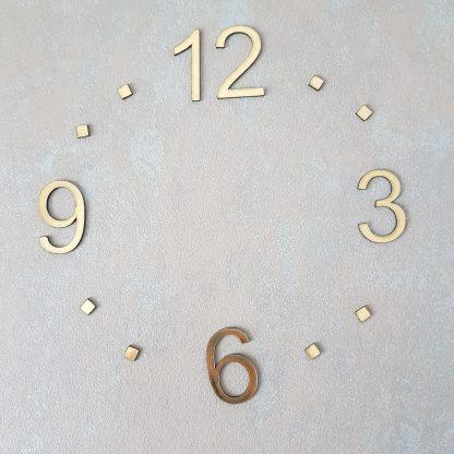 цифры из пластика для часов